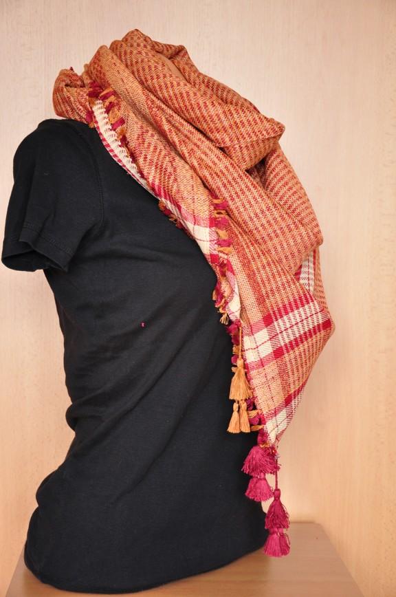 f8bcb3735f2 Palestina šátek červenožlutozrzavá - SLEVA 40 % empty